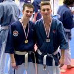 Damien Senior -65kg à droite / Vice champion de France