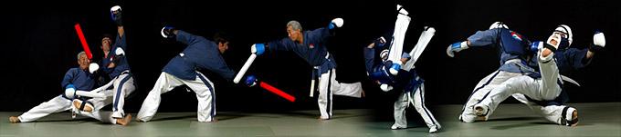 La compétition de Yoseikan Budo