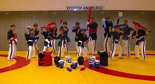 Enfants au Yoseikan